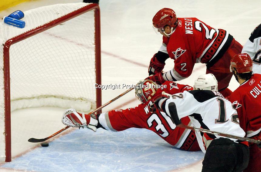 NHL Playoffs 2006<br /> Buffalo Sabres v Carolina Hurricanes
