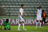 29th October 2019; Bezerrao Stadium, Brasilia, Distrito Federal, Brazil; FIFA U-17 World Cup Brazil 2019, Angola versus Canada; Nathan Demian and Marc Kouadio of Canada look dejected as they let in the goal from David of Angola for 2-1 - Editorial Use