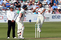 Ravi Bopara in bowling action for Essex during Essex CCC vs Middlesex CCC, Specsavers County Championship Division 1 Cricket at The Cloudfm County Ground on 26th June 2017