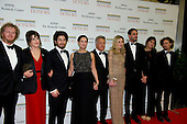 Dustin Hoffman arrives with his family for the formal Artist's Dinner honoring the recipients of the 2012 Kennedy Center Honors hosted by United States Secretary of State Hillary Rodham Clinton at the U.S. Department of State in Washington, D.C. on Saturday, December 1, 2012. The 2012 honorees are Buddy Guy, actor Dustin Hoffman, late-night host David Letterman, dancer Natalia Makarova, and the British rock band Led Zeppelin (Robert Plant, Jimmy Page, and John Paul Jones)..Credit: Ron Sachs / CNP