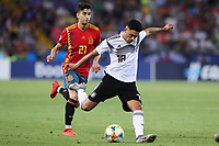 Nadiem Amiri of Germany scores a goal<br /> Udine 30-06-2019 Stadio Friuli <br /> Football UEFA Under 21 Championship Italy 2019<br /> final<br /> Spain - Germany<br /> Photo Cesare Purini / Insidefoto