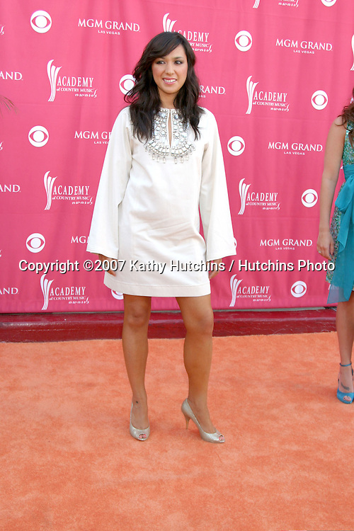 Michelle Branch.Academy  of Country Music Awards.MGM Grand Garden Arena.Las Vegas, NV.May 15, 2007.©2007 Kathy Hutchins / Hutchins Photo....