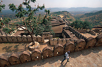 Fort Kumbalgarh in Rajasthan, Indien, UNESCO-Weltkulturerbe Fort Kumbalgarh in Rajasthan, Indien, UNESCO-Weltkulturerbe