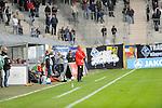 Steinbachs Trainer Daniel Bogusz beim Spiel, SV Waldhof Mannheim - TSV Steinbach.<br /> <br /> Foto &copy; PIX-Sportfotos *** Foto ist honorarpflichtig! *** Auf Anfrage in hoeherer Qualitaet/Aufloesung. Belegexemplar erbeten. Veroeffentlichung ausschliesslich fuer journalistisch-publizistische Zwecke. For editorial use only.