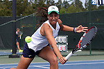 20 April 2016: Notre Dame's Quinn Gleason. The University of Notre Dame Fighting Irish played the University of Pittsburgh Panthers at the Cary Tennis Center in Cary, North Carolina in the first round of the Atlantic Coast Conference Women's Tennis Tournament. Notre Dame won the match 4-3.