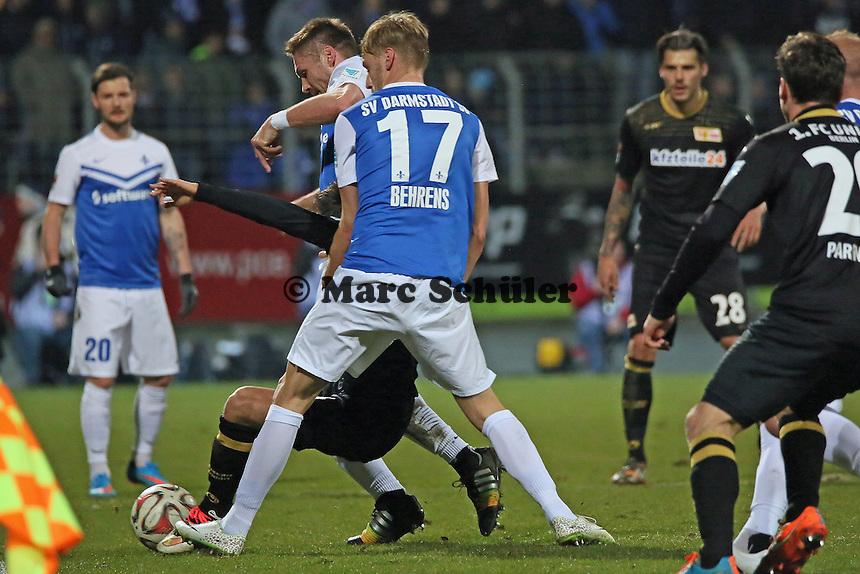 Hanno Behrens (SV 98) - SV Darmstadt 98 vs. 1. FC Union Berlin, Stadion am Boellenfalltor