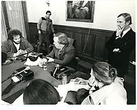 Chambre de commerce<br /> <br /> , date inconnue, probalement fin des années 70.<br /> <br /> PHOTO : Agence Quebec Presse