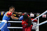 Glasgow 2014 Commonwealth Games<br /> Nathan Thorley v Yakita Aska<br /> Men's Light Heavy (81kg)<br /> SECC<br /> 29.07.14<br /> &copy;Steve Pope-SPORTINGWALES