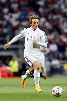 Luka Modric of Real Madrid during the Champions League group B soccer match between Real Madrid and FC Basel 1893 at Santiago Bernabeu Stadium in Madrid, Spain. September 16, 2014. (ALTERPHOTOS/Caro Marin) /NortePhoto.com
