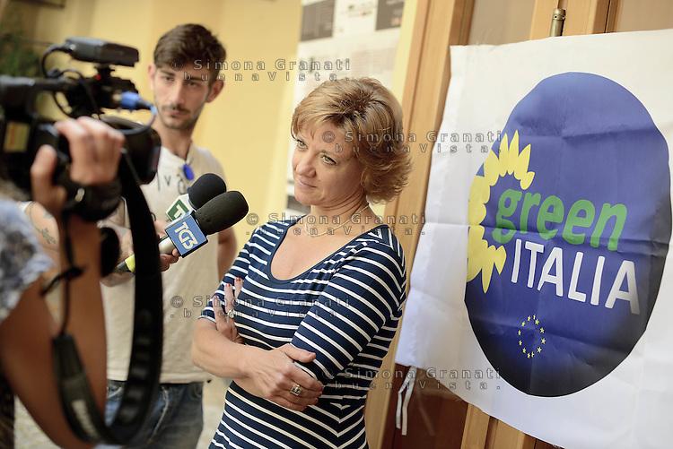 Roma, 20 Giugno 2015<br /> Teatro 2.<br /> Monica Frassoni<br /> Assemblea nazionale di Green Italia.<br /> La politica con un altro colore