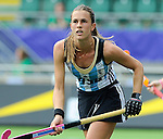 The Hague, Netherlands, June 14: Carla Rebecchi #11 of Argentina looks on during the field hockey bronze medal match (Women) between USA and Argentina on June 14, 2014 during the World Cup 2014 at Kyocera Stadium in The Hague, Netherlands. Final score 2-1 (2-1)  (Photo by Dirk Markgraf / www.265-images.com) *** Local caption ***