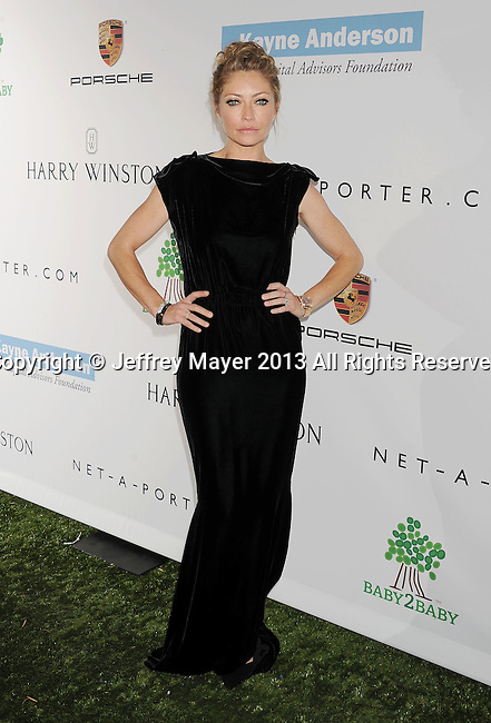 CULVER CITY, CA- NOVEMBER 09: Actress Rebecca Gayheart arrives at the 2nd Annual Baby2Baby Gala at The Book Bindery on November 9, 2013 in Culver City, California.