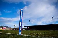 Picture by Alex Whitehead/SWpix.com - 11/02/2018 - Rugby League - Betfred Championship - Dewsbury Rams vs London Broncos - Tetleys Stadium, Dewsbury, England - corner post, branding, betfred.