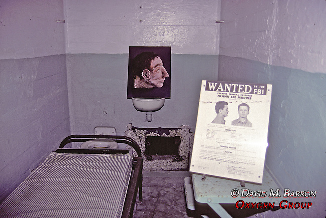 Fran Lee Morris's Cell, In Alcatraz Prison