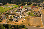 Aerial View of West Salem High School in Oregon
