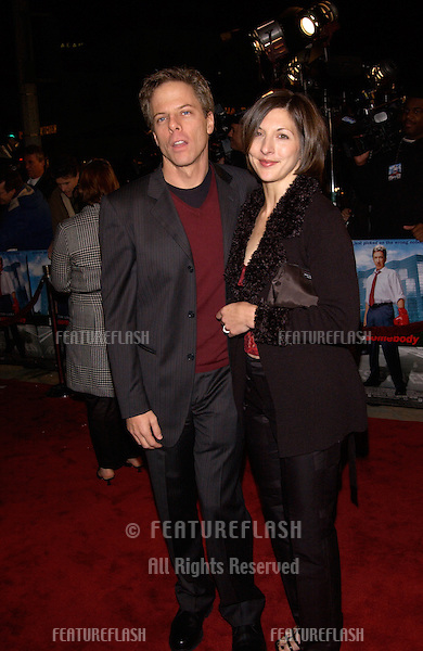 Actor GREG GERMANN & wife CHRISTINE at the Los Angeles premiere of his new movie Joe Somebody..19DEC2001..© Paul Smith/Featureflash