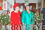Fashion Show in Scartaglen Heritage Centre on Friday night, in aid of Scartaglen Ladies Football team.  Pictured here L-R were Mary O'Connor of Colnageargh and Kathleen Murphy of Scartaglen.
