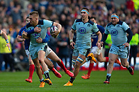 8th March 2020; Murrayfield Stadium, Edinburgh, Scotland; International Six Nations Rugby, Scotland versus France; Kyle Steyn of Scotland is tackled