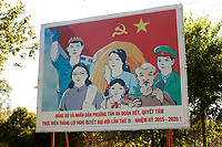 vietnamese propaganda posters in <br />  Hoi An