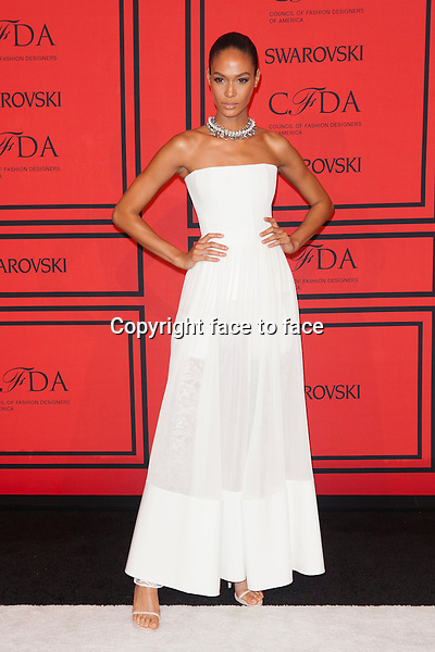 NEW YORK, NY - JUNE 3: Joan Smalls at the 2013 CFDA Fashion Awards at Lincoln Center's Alice Tully Hall in New York City. June 3, 2013. <br /> Credit: MediaPunch/face to face<br /> - Germany, Austria, Switzerland, Eastern Europe, Australia, UK, USA, Taiwan, Singapore, China, Malaysia, Thailand, Sweden, Estonia, Latvia and Lithuania rights only -