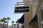 Shopping, Sign, Polo Ralph Lauren for Children, Premium Outlet Mall, Orlando, Florida