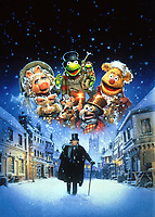 The Muppet Christmas Carol (1992)<br /> Promotional art with Michael Caine<br /> *Filmstill - Editorial Use Only*<br /> CAP/KFS<br /> Image supplied by Capital Pictures