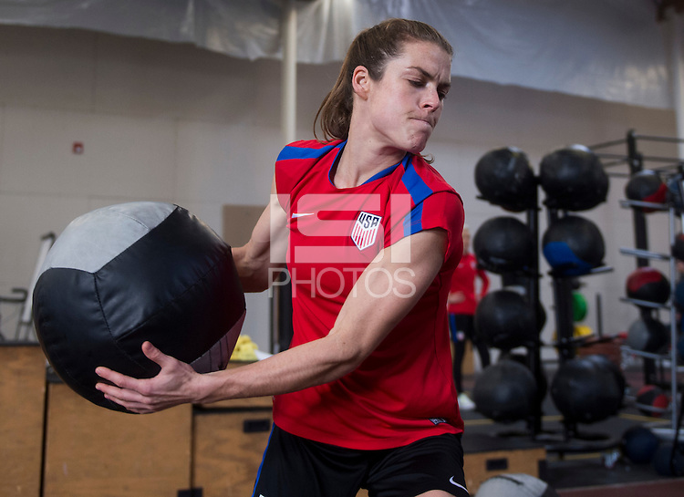 Carson, CA - January 18, 2017: The USWNT held training during January Camp.