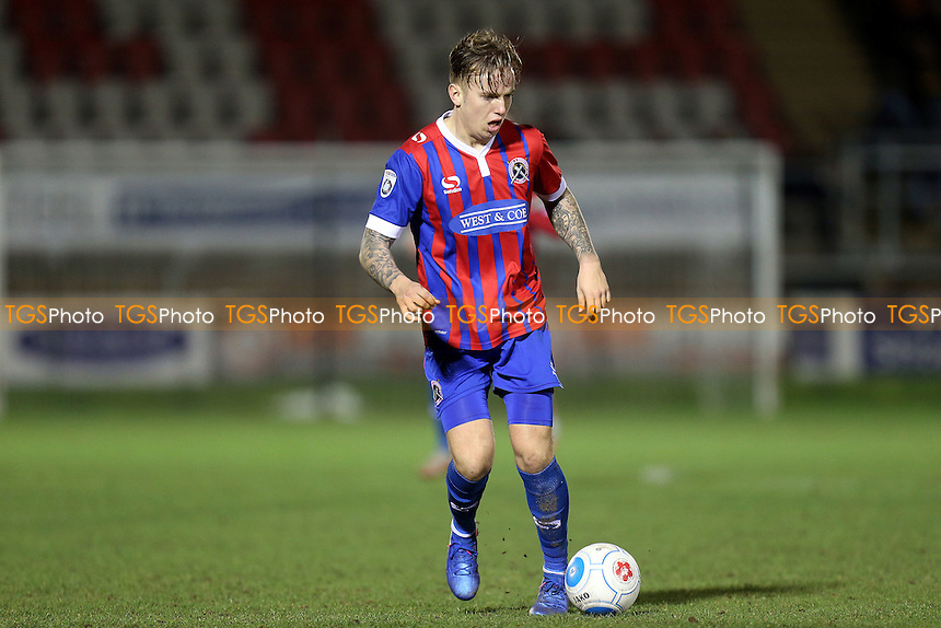 Jordan Maguire-Drew of Dagenham during Dagenham & Redbridge vs Maidstone United , Vanarama National League Football at the Chigwell Construction Stadium on 28th February 2017