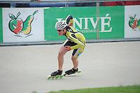 INLINE-SKATEN: HEERDE: Skeeler- en Skatecentrum Hoornscheveen, Europa Cup/Univé Skate Off, 05-05-2012, Marita Hut (#33), ©foto Martin de Jong