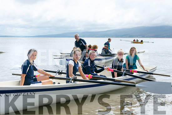 enjoying the Fenit Regatta on Sunday were Ava Doherty, Tara O'Donoghue, Clara O'Donoghue, Adel Sweetman