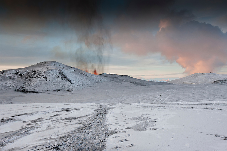 Eruption In Iceland - Eyjafjallajokull