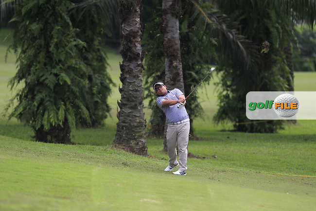 Panuphol Pittayarat (THA) in action on the 6th fairway during Round 1 of the Maybank Championship at the Saujana Golf and Country Club in Kuala Lumpur on Thursday 1st February 2018.<br /> Picture:  Thos Caffrey / www.golffile.ie<br /> <br /> All photo usage must carry mandatory copyright credit (© Golffile | Thos Caffrey)