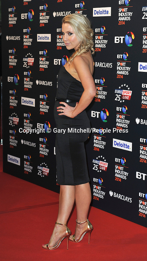 Millie Clode attends the BT Sport Industry Awards at Battersea Evolution on May 8, 2014 in London, England