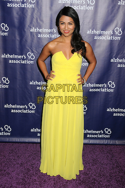 18 March 2015 - Beverly Hills, California - Karen David. 23rd Annual &quot;A Night at Sardi's&quot; Benefit for the Alzheimer's Association held at The Beverly Hilton Hotel. <br /> CAP/ADM/BP<br /> &copy;BP/ADM/Capital Pictures