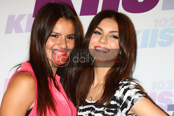 Madison Grace Reed, Victoria Justice<br />