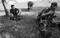 Balkan War: Behind first line, Livno, Bosnia-Herzegovina 1993