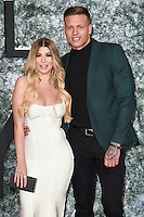 "Olivia Buckland and Alex Bowden<br /> at the European premiere of ""Collateral Beauty"" at the Vue Leicester Square , London.<br /> <br /> <br /> ©Ash Knotek  D3213  15/12/2016"
