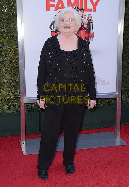13 November - Los Angeles, Ca - June Squibb. Arrivals for the Los Angeles premiere of &quot;Love the Coopers&quot; held at The Grove.   <br /> CAP/ADM/BT<br /> &copy;BT/ADM/Capital Pictures