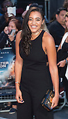 London, UK. 26 September 2016. Amal Fashanu. Red carpet arrivals for the European Premiere of the Hollywood movie Deepwater Horizon in Leicester Square. The movie is based on the 2010 Deepwater Horizon explosion and oil spill in the Gulf of Mexico. © Bettina Strenske/Alamy Live News