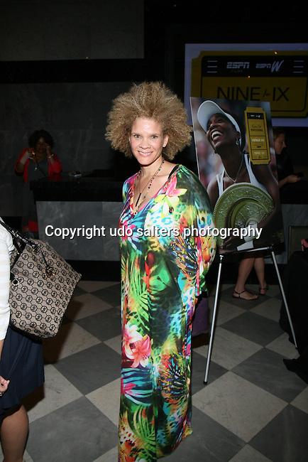 Writer Michaela Angela Davis Attends New York Special Screening of ESPN Films & espnW's VENUS VS. & COACH (Tribeca Film Festival 'Best Documentary Short' Award-Winner) Held at The Paley Center for Media
