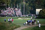 Phil Mickelson (USA),<br /> June 15, 2013 - Golf :<br /> Phil Mickelson of United States in action on 18th hole during the third round of the U.S. Open Championship at the Merion Golf Club, East course in Haverford Township, Delaware Country, Pennsylvania. (Photo by Koji Aoki/AFLO SPORT) [0008]