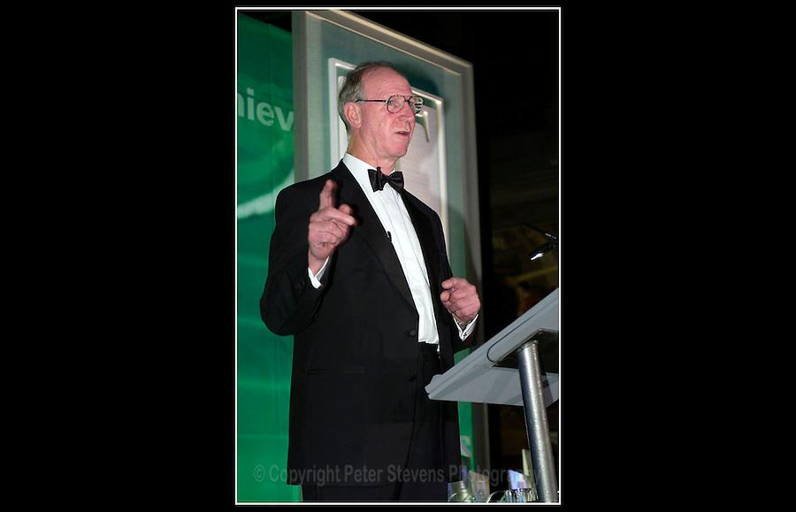 Jack Charlton OBE - National Training Awards 2002 - 12th November 2002 -