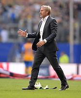 FUSSBALL   1. BUNDESLIGA   SAISON 2013/2014   4. SPIELTAG Hamburger SV - Eintracht Braunschweig                  31.08.2013 Trainer Thorsten Fink (Hamburger SV)