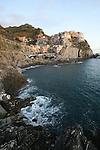 Village de Manarola  Parc national des Cinque Terre. Ligurie. Italie.