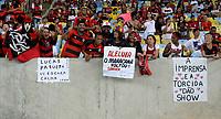 RIO DE JANEIRO, RJ, 08.04.2017 - VASCO-FLAMENGO - Torcida do Flamengo durante partida contra o Vasco em jogo válido pela semi-final da Taça Rio no Maracanã no Rio de Janeiro, neste sábado, 08. (Foto: Clever Felix/Brazil Photo Press)