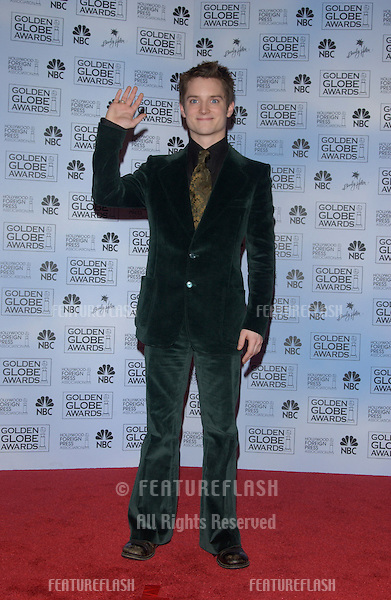 ELIJAH WOODS at the 61st Annual Golden Globe Awards at the Beverly Hilton Hotel, Beverly Hills, CA..January 25, 2004