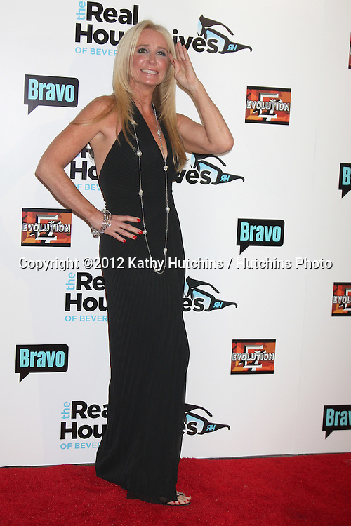 """LOS ANGELES - OCT 21:  Kim Richards arrives at  """"The Real Housewives of Beverly Hills"""" Season three premiere red carpet event at Roosevelt Hotel on October 21, 2012 in Los Angeles, CA"""