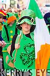 Yahoo Maritz at Tralee Saint Patrick's day parade on Tuesday.