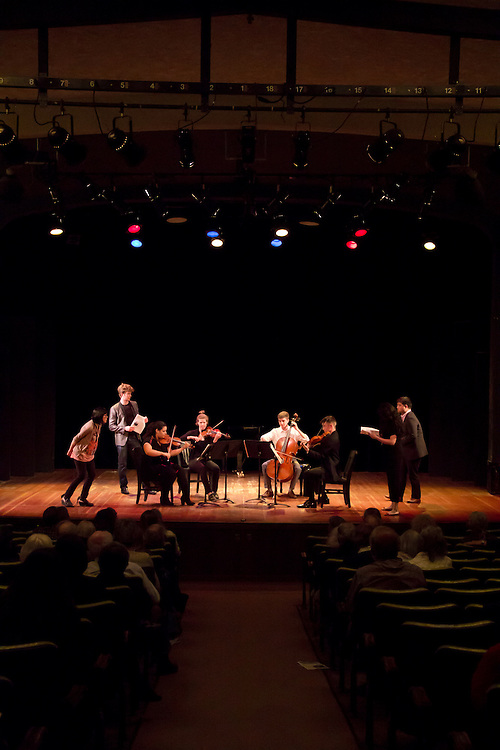 Port Townsend, Centrum, Chamber Music Workshop, June 16-21 2015, Fort Worden, Wheeler Theater, Enso Quartet,  Joshua Roman, musicians teaching workshop artists, Azalea Quartet, Pacific Northwest, Washington State,