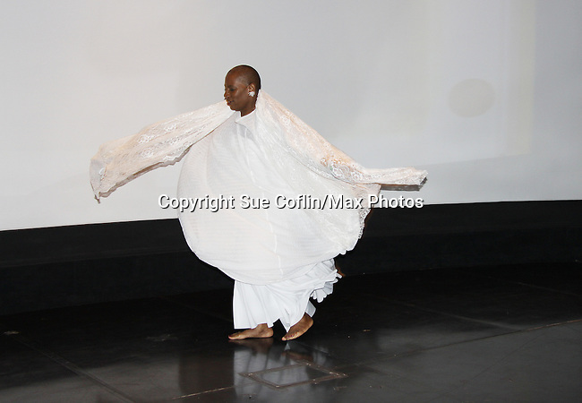 """At the gala Nana Malaya (mom to Lamman Rucker- ATWT & AMC) performed a dance to """"If I Could Fly"""".  Nana is artistic director, choreographer, storyteller, motivaitonal speaker, poet, minister, dancer, actress, fitness consultant. - The United States Memorial Celebrates Black History Month with a benefit performance of the Layon Gray's Black Angels Over Tuskegee attend the gala on February 22, 2011 in Washington, DC before performing on Friday, February 25. (Photo by Sue Coflin/Max Photos)"""